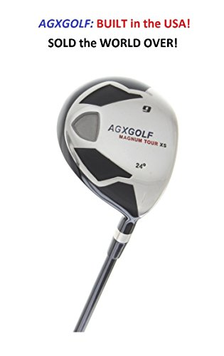 AGXGOLF Men's Magnum #9 Fairway Utility Wood wGraphite Shaft: Choose Length & Flex: Free Head Cover Fast Shipping BUILT IN THE U.S.A!