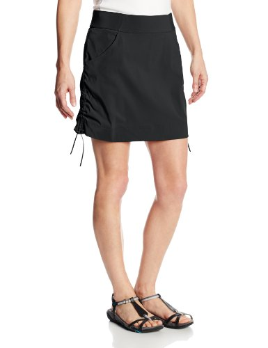 Columbia Women's Anytime Casual Skort, Black, Large