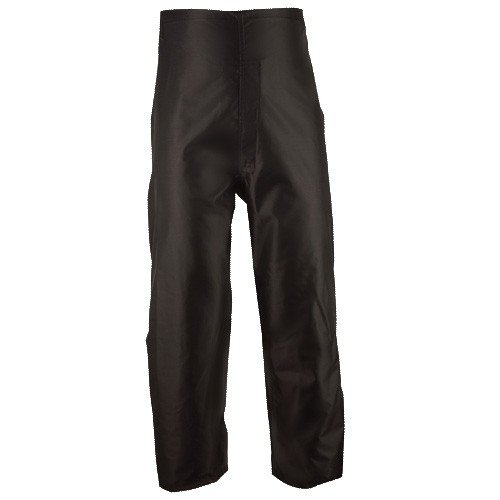 Waterproof Rain Pants By Brite Safety: Breathable Unisex Black Pants Made With Durable Waterproof Nylon Oxford Fabric – Comfortable Pants With Pockets, Elastic Waistband And Adjustable Cuffs