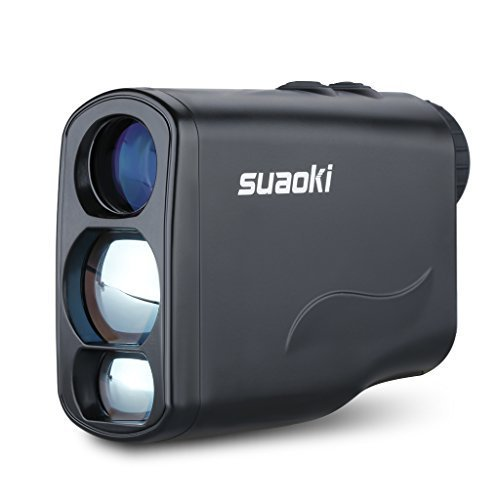 Suaoki Golf Laser Rangefinder with Fog ,Horizontal Distance, Height, Speed Measurement and Unique Distance Correction Function