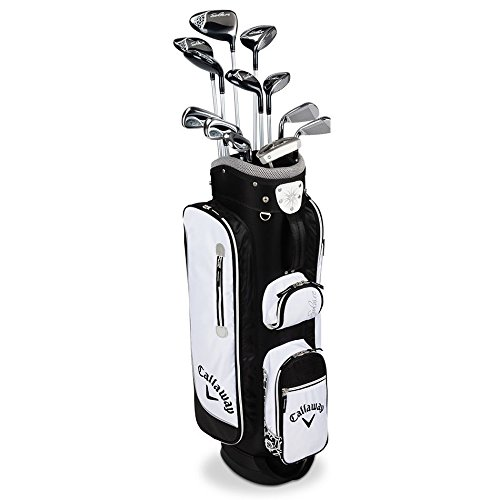 Callaway Women's 2016 Solaire Petite Complete Golf Set with Bag (12-clubs, Right Hand, Black)