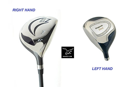 AGXGOLF Men's Magnum #7 Utility Fairway Wood wGraphite Shaft: Choose Length & Flex: Free Head Cover Fast Shipping Made in USA