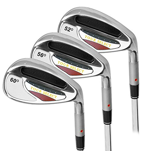 Tour Select Men's Right Handed Three Piece Wedge Set