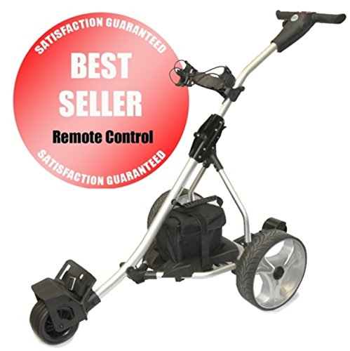 Spitzer Golf R5-DIGITAL Remote Electric Golf Trolley Cart with Distance Timer